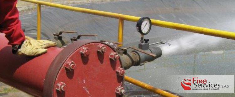 Inspección de equipos contra incendio