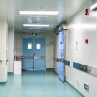 Sistema de protección contra incendio para hospitales