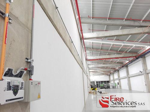 Sistema de Protección contra incendio y seguridad industrial