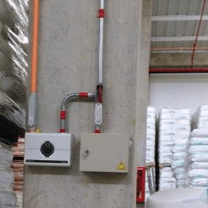 Detector de humo puntual