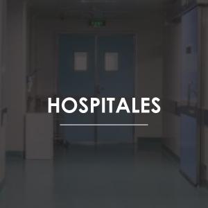 Equipos contra incendio para hospitales