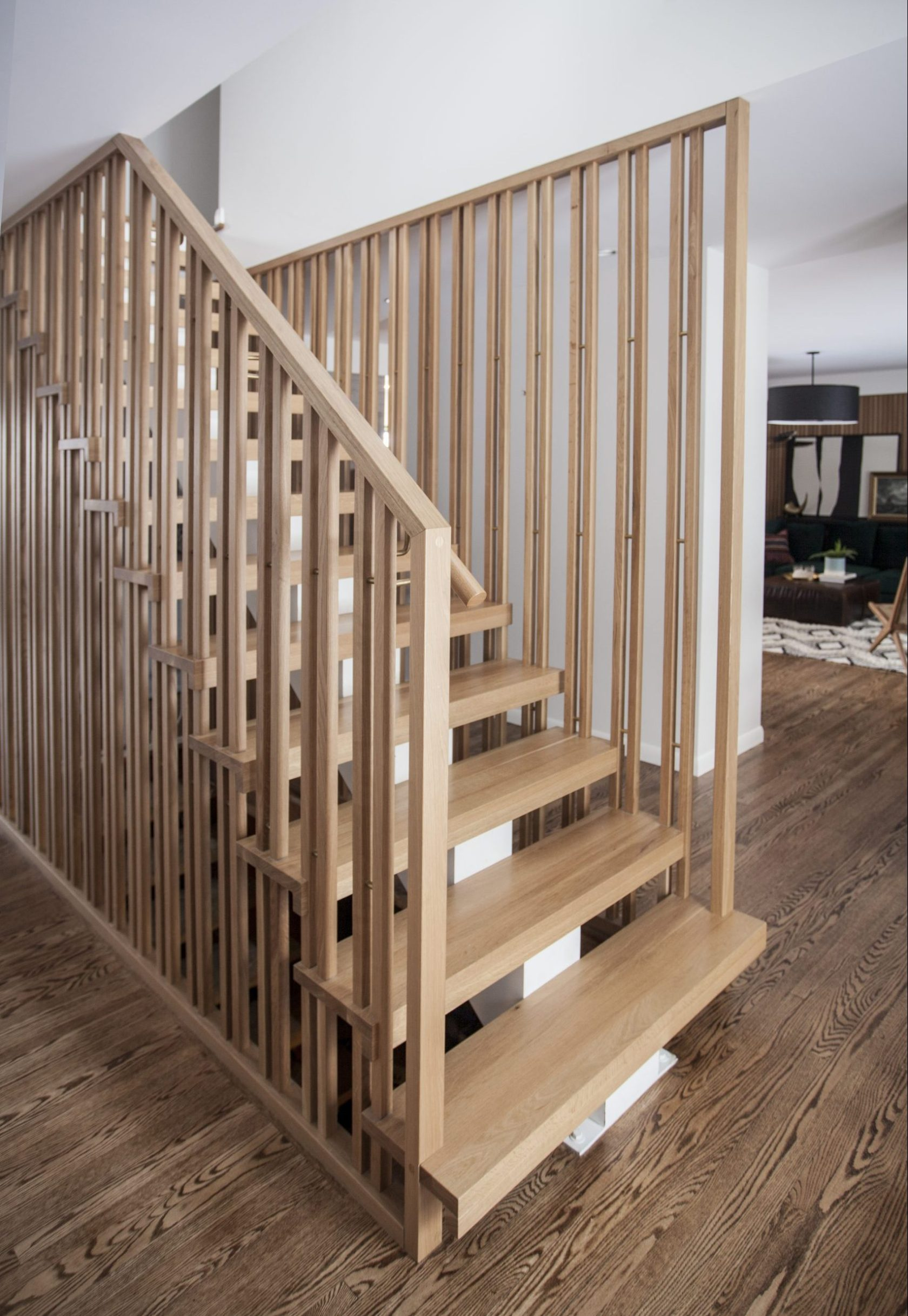 slatted stairs