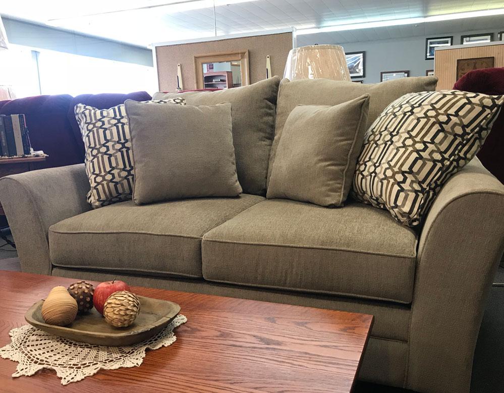 Casual Overstuffed Living Room Set  Fireside Furniture