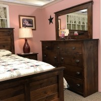 rustic farmhouse bedroom set, solid construction and ...