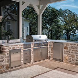 outdoor grills and patio awnings