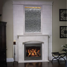 GAS FIREPLACE CRACKLING  Fireplaces