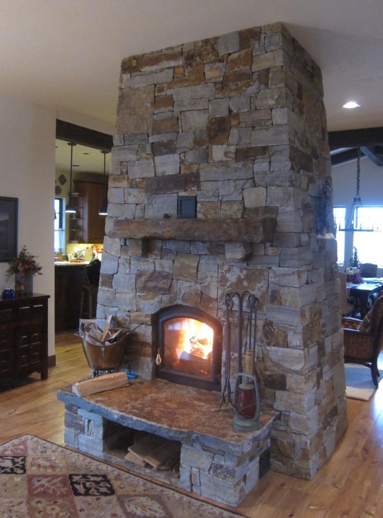 Lodge Style Masonry Heater Firespeaking