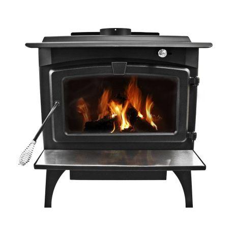 large wood burning stove