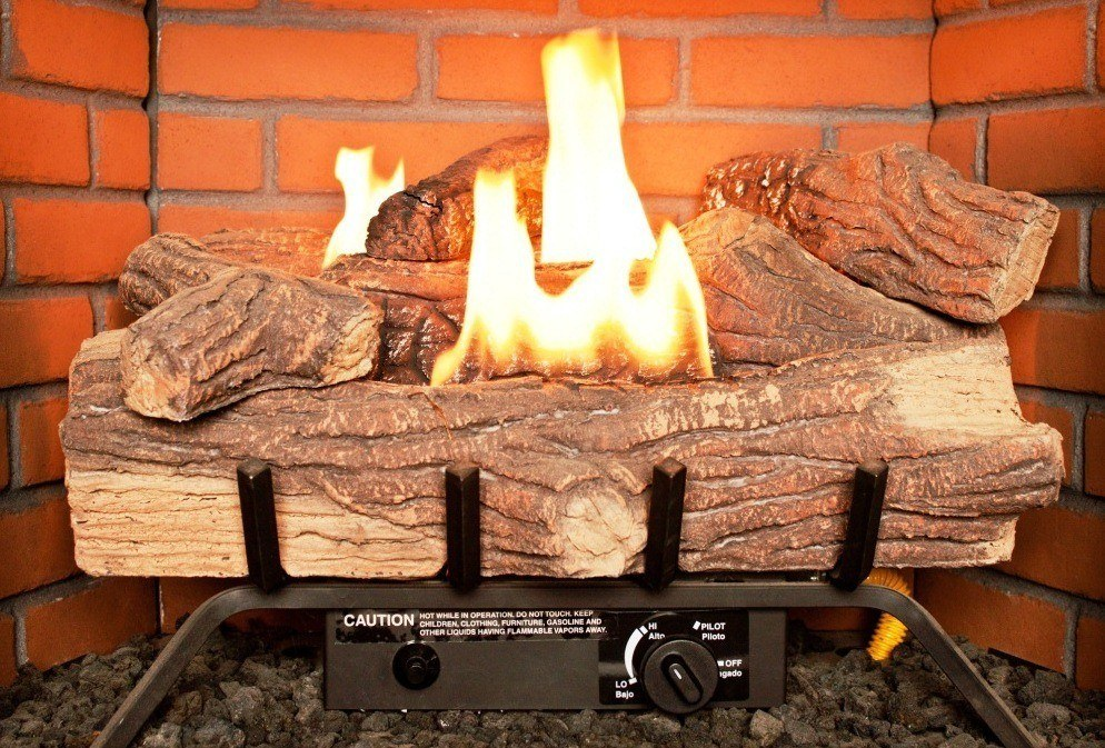 Best Gas Fireplace Logs Reviews 2017 : Vent Free and Vented Gas Logs