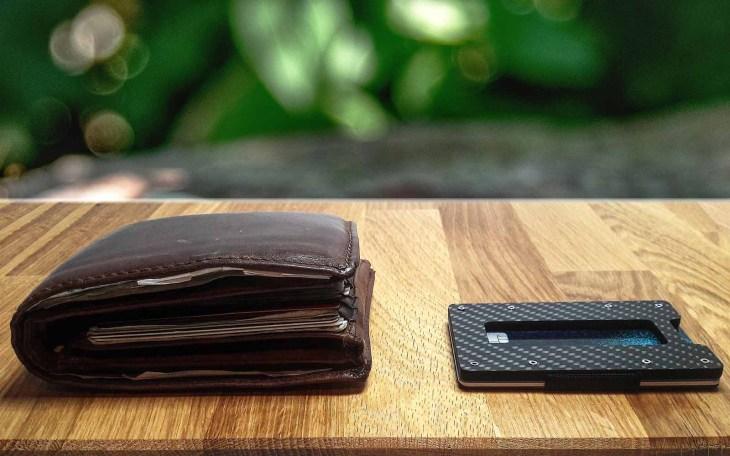 Portemonnaie und Aviator Slim Wallet im Vergleich