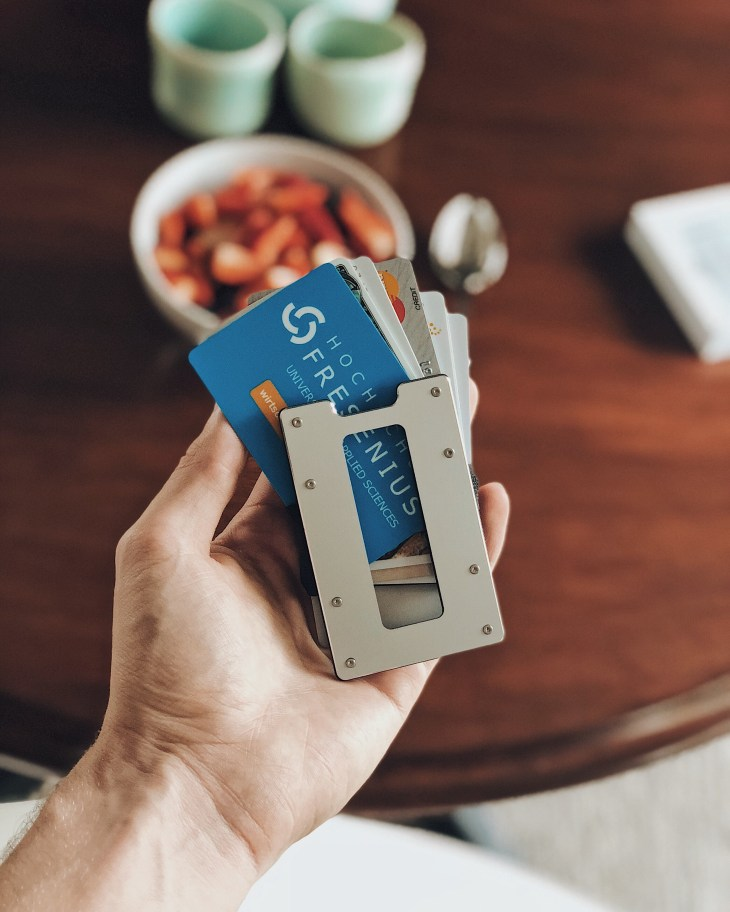 Aviator Slim Wallet mit RFID-Schutz