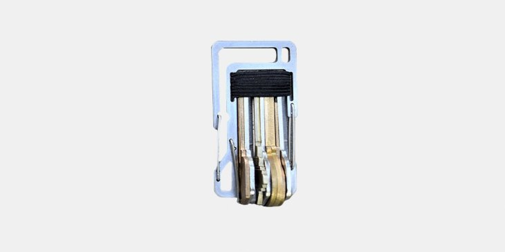 KT 7, Karabiner, Schlüssel, Schlüsselbund, klappern, Flaschenöffner, Titan, Everyday Carry, Einsteiger, Setup