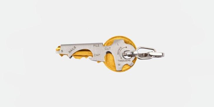 Key Tool umhüllt deine Schlüssel und nimmt keinen extra Platz weg, Multi Tool, Schlüsselbund