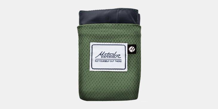 Matador Up, Pocket Blancket 2.0, Decke, Taschendecke, Pause, Essen, Wandern, Ausrüstung, Outdoor, Natur,