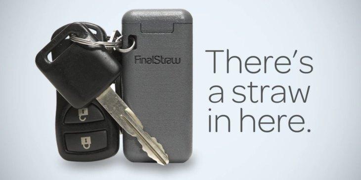 Final Straw - der erste klappbare, wiederverwendbare Strohhalm