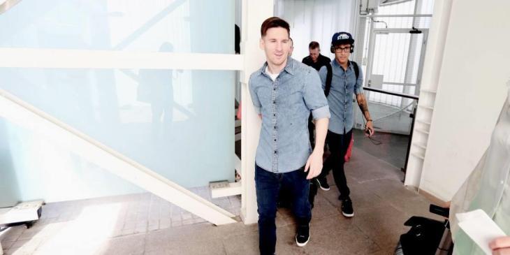 Leo Messi u Neymar