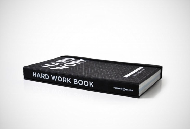 Hard Work Notebook