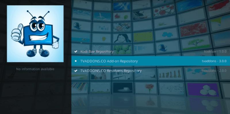 Require Repository for Exodus Kodi Addon