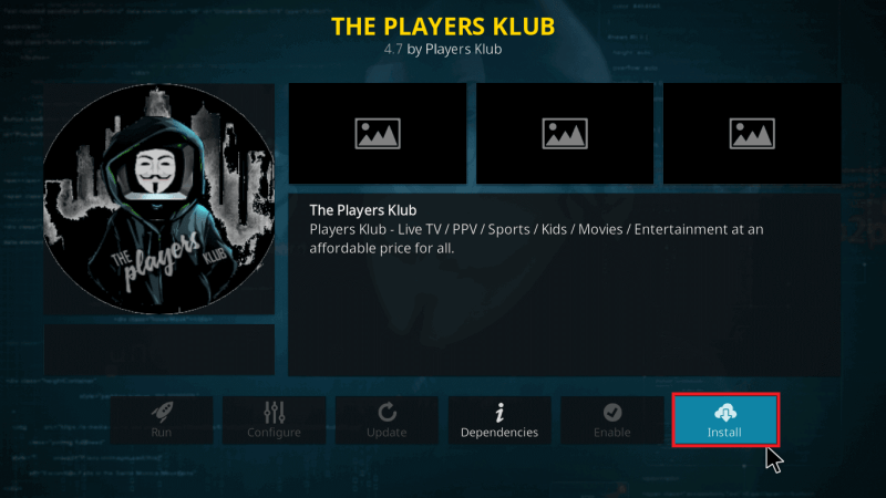 The Players Klub IPTV | Review & Installation for Firestick
