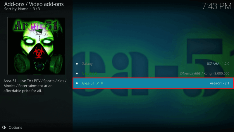 Area 51 IPTV | Review (2019) | Kodi, Firestick & Android Apk