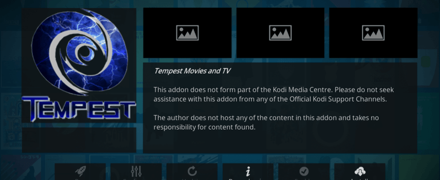 How to Install Tempest Kodi Addon