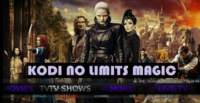 Kodi No Limits Magic Builds for Kodi Leia