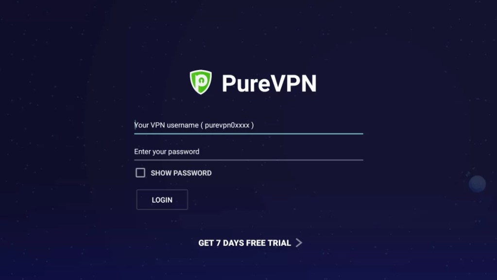 PureVPN on Firestick