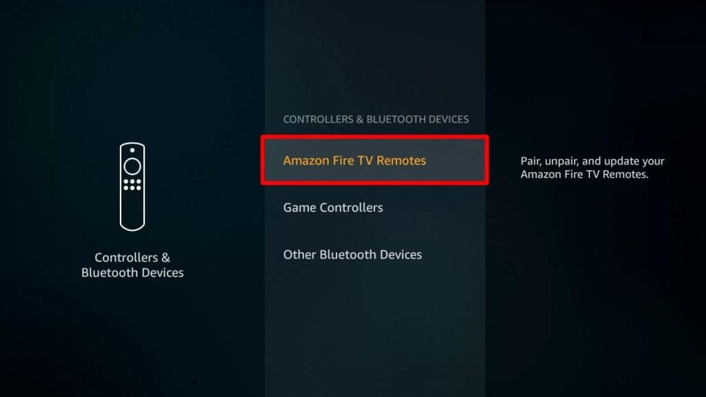 Pair Additional Remote via Settings