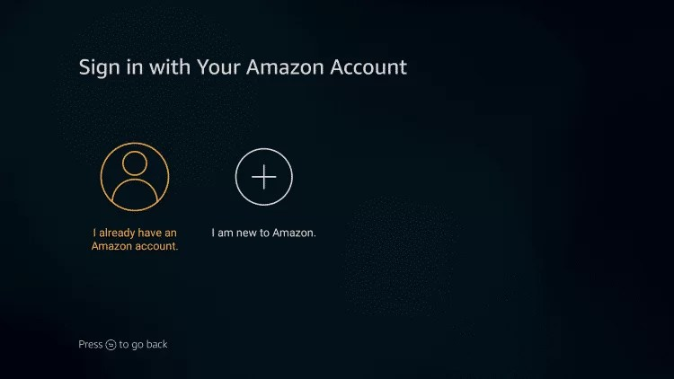 Register your Firestick with your Amazon Prime Account