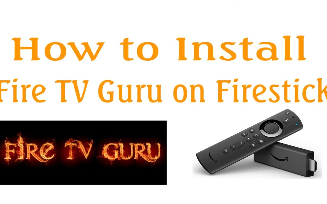 Install Fire TV Guru build