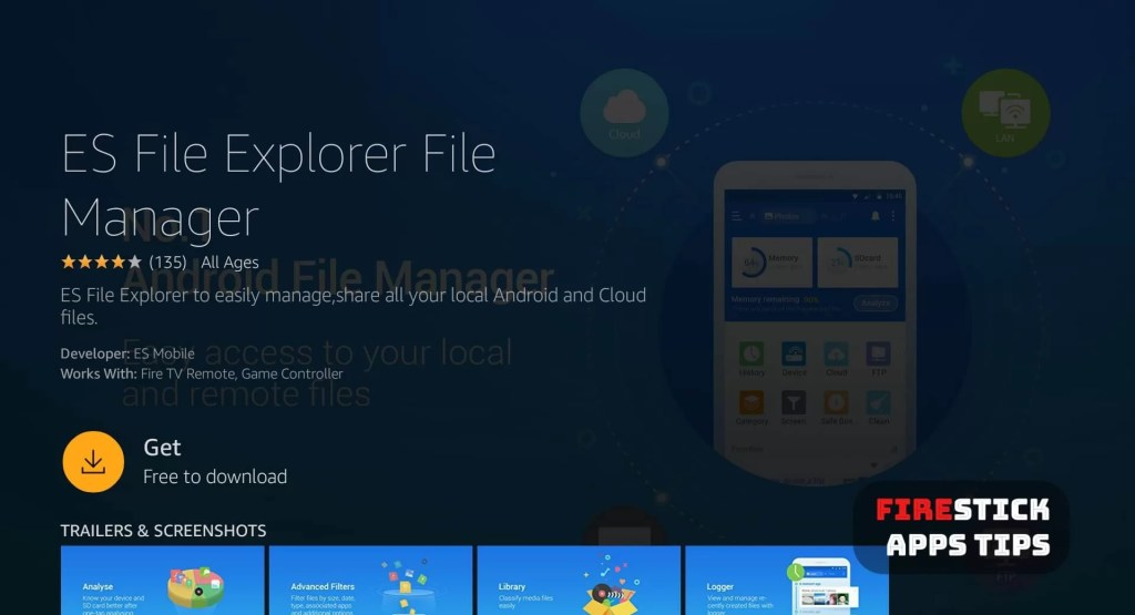 how to uninstall es file explorer from firestick