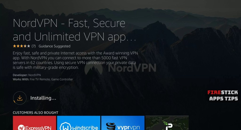 How to Download and Install NordVPN on Firestick / Fire TV