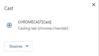 Chromecast DIRECTV NOW to TV