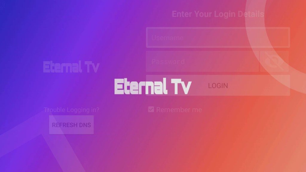 Eternal TV Firestick App