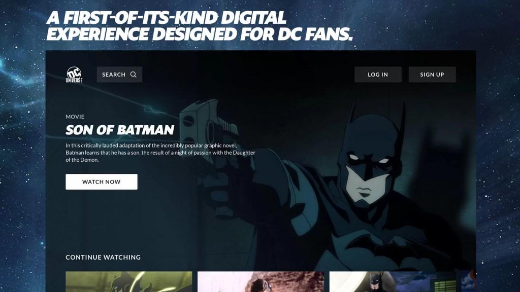 DC Universe Firestick App
