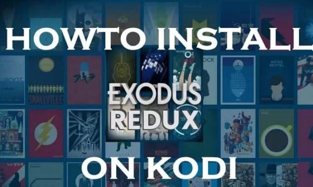 How to Install Exodus Redux Kodi Addon on Leia 18.4 / Firestick