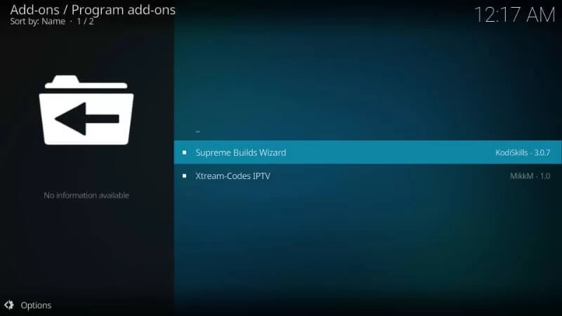 Install Titanium Kodi Build