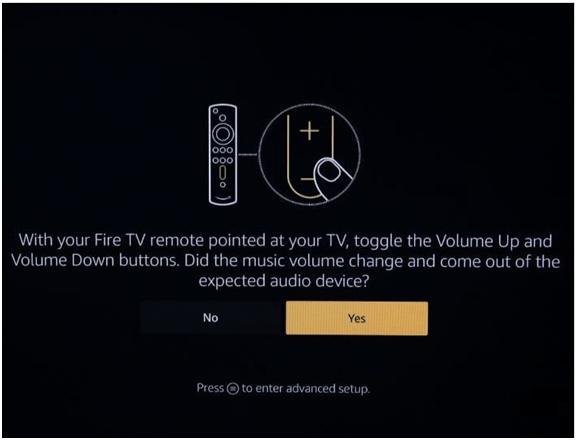 Audio on Amazon Firestick
