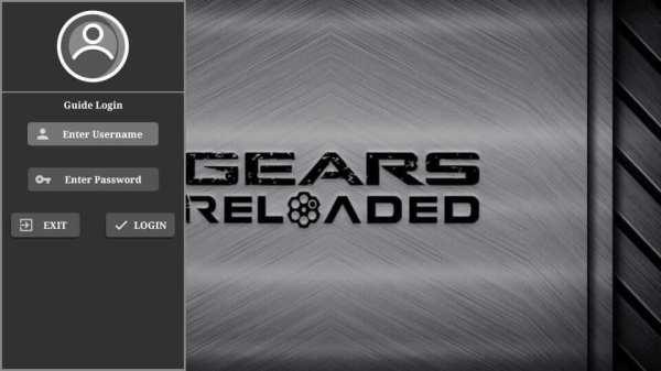 Click Login Gears TV Reloaded IPTV