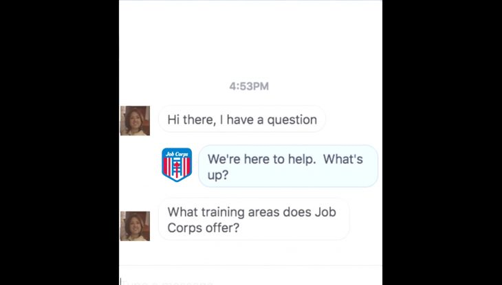 "Job Corps Facebook Campaign—""Where Are The Centers?"""