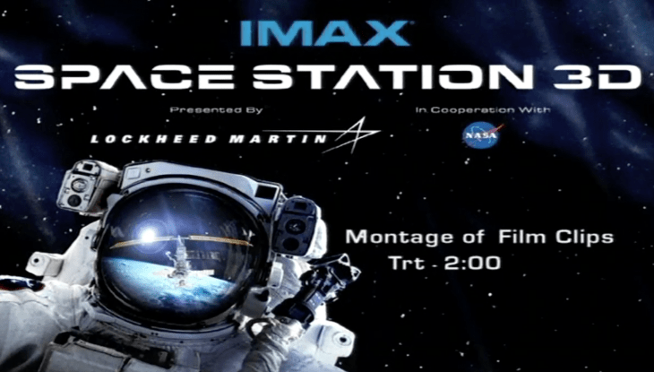 IMAX EPK—Space Station 3D Tom Cruise