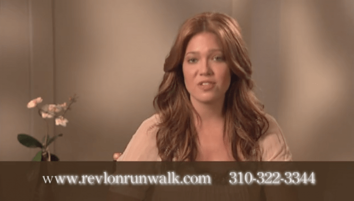 Mandy Moore—Revlon Run/Walk For Women Promo