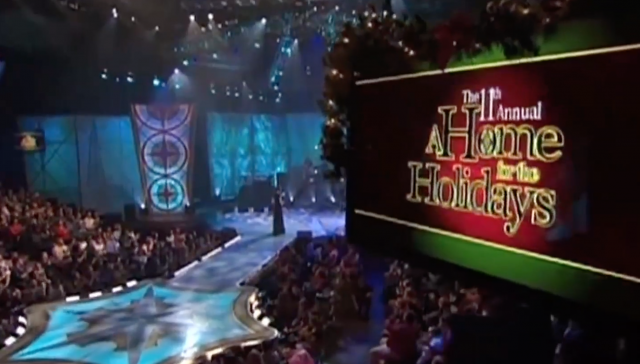 "CBS Network Special—""A Home for the Holidays"""