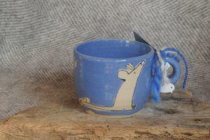 Firestone Studios Blue Mouse Mug