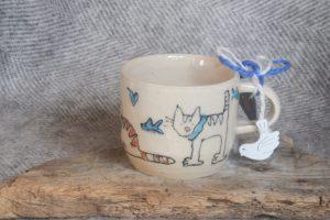 Firestone Studios Cat Mug