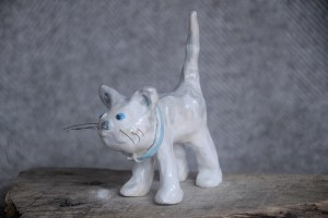 Standing Tabby Cat