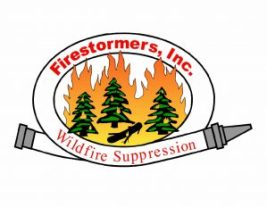 Logo for letterhead firestormers inc