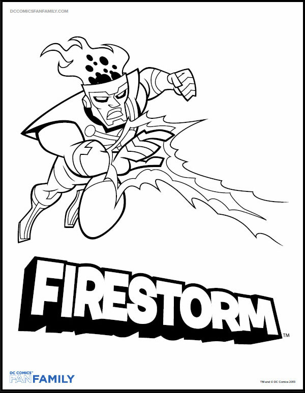 dc comics coloring pages # 15