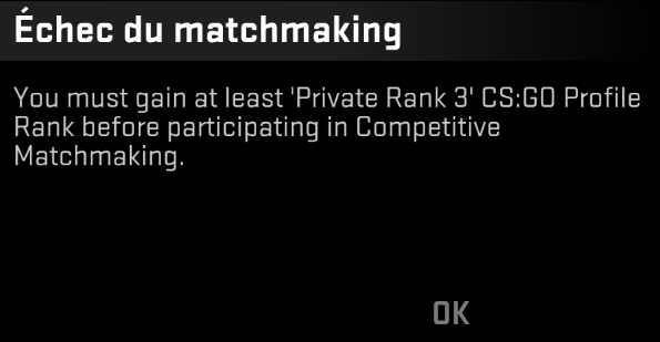 matchmaking private rank 3