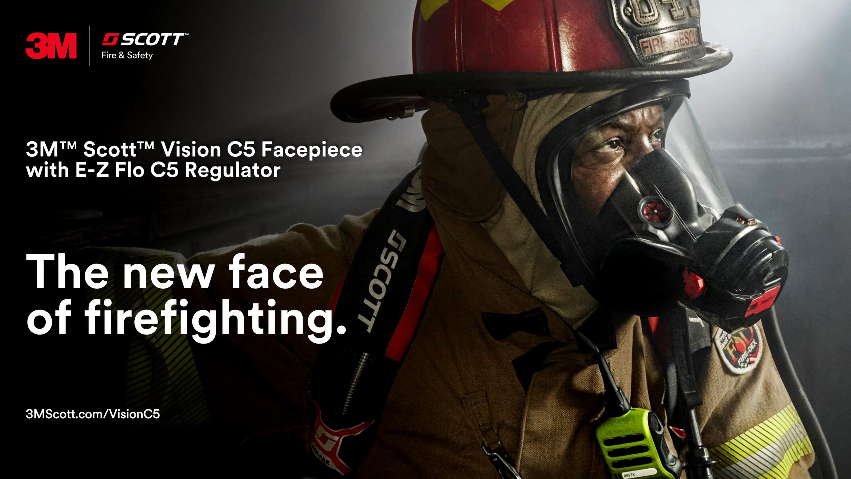 3M™ Scott™ Vision C5 Facepiece with E-Z Flo C5 Regulator -- End-user Presentation